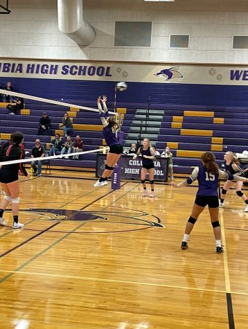 Coyote Volleyball Secured Their First Win of The Season